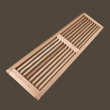 Glenora Lumber Custom Wood Vents Manufactured On Site